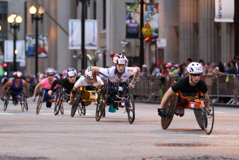 Maratona del Chicago fotografia stock libera da diritti
