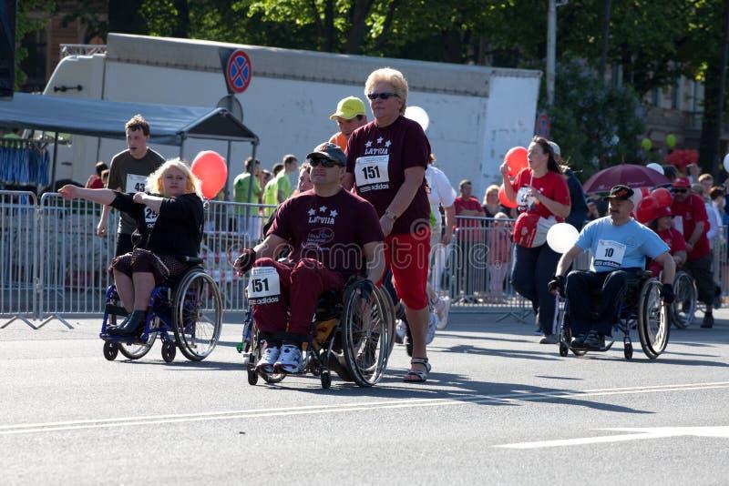 Maratona del International di Riga fotografie stock libere da diritti