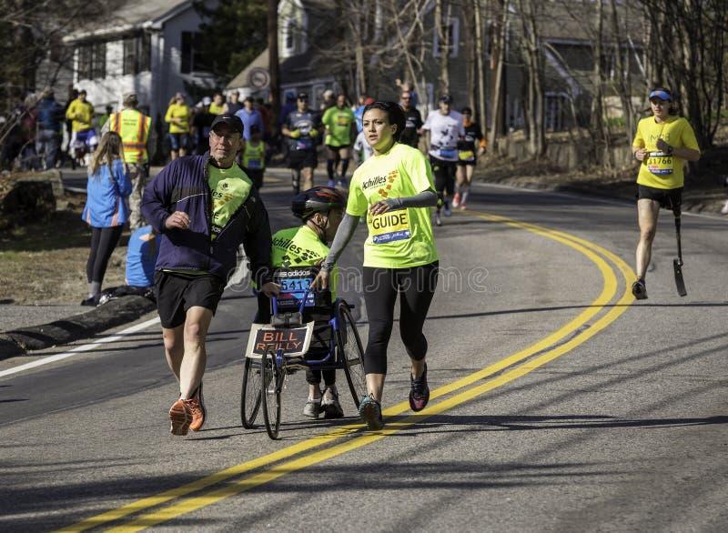 Maratona 2014 di Boston immagine stock