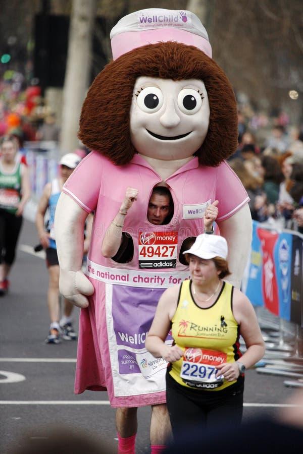 Download Maratona 2013 di Londra immagine editoriale. Immagine di estremo - 30825025