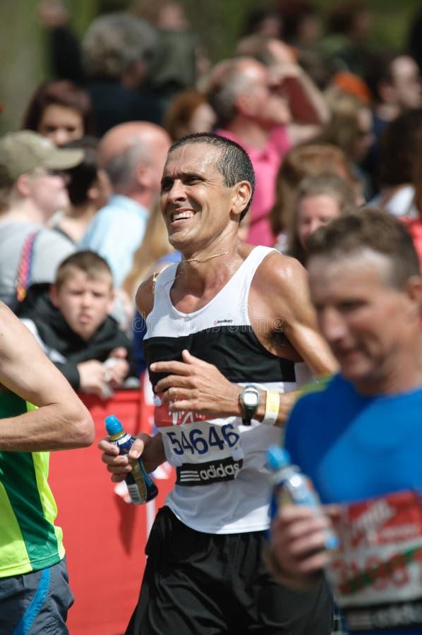 Maratona di Londra del Virgin fotografia stock