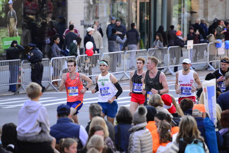 Maratona 2016 di New York immagine stock libera da diritti