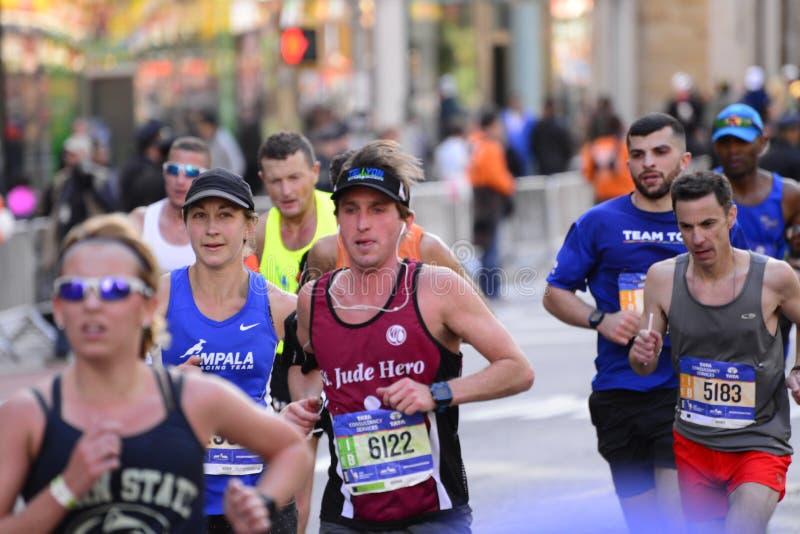 Maratona 2016 di New York immagini stock libere da diritti
