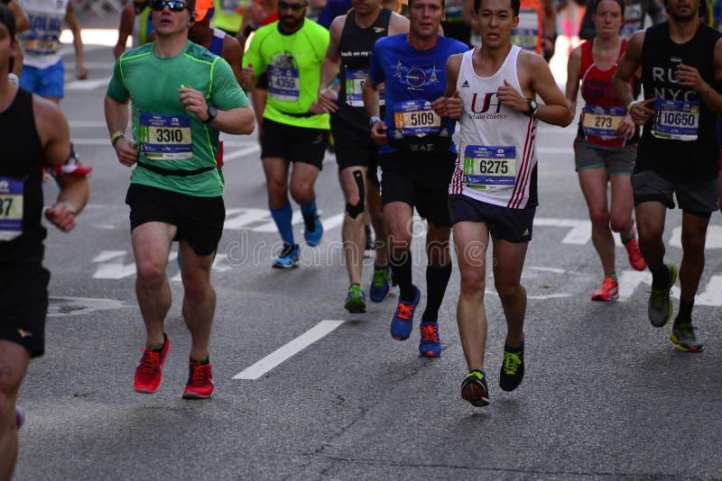 Maratona 2016 di New York fotografia stock libera da diritti