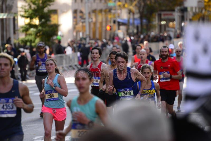 Maratona 2016 di New York fotografie stock libere da diritti