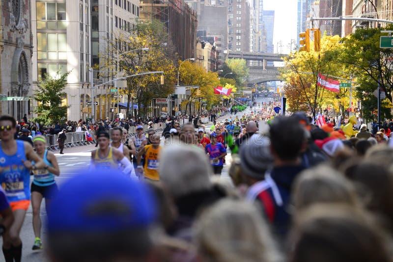 Maratona 2016 di New York fotografia stock