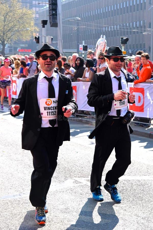Maratona Rotterdam imagens de stock royalty free