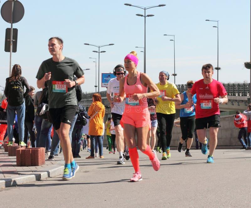 Maratonhastighet royaltyfri bild