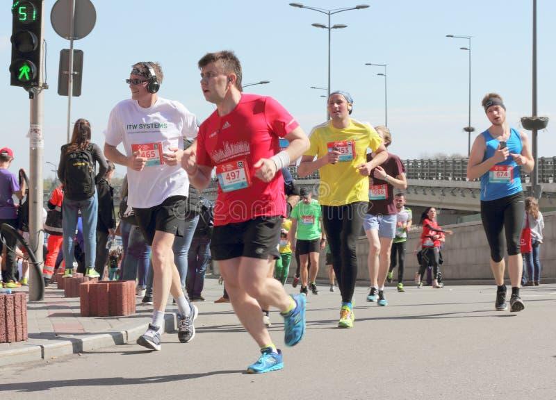 Maratonhastighet fotografering för bildbyråer
