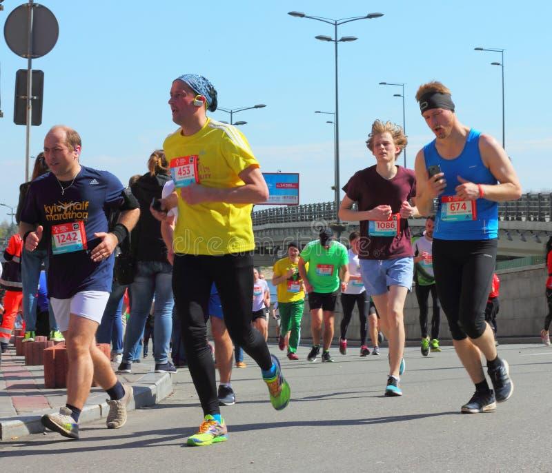 Maratonhastighet arkivfoto
