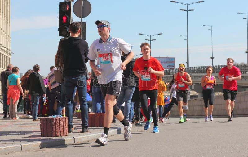 Maratonhastighet royaltyfria foton