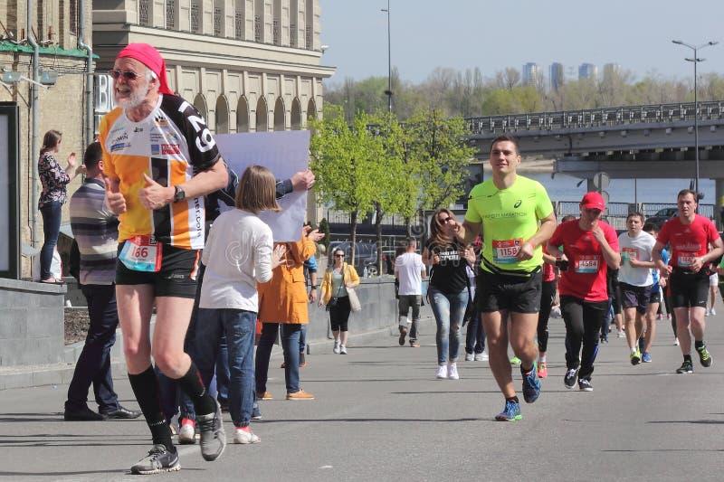 Maratonhastighet arkivbilder