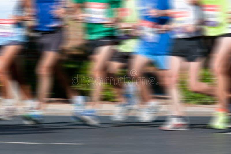 MaratonRacers fotografering för bildbyråer