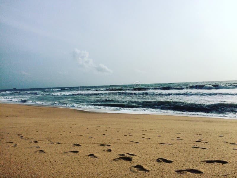 Maravanthe plaża obrazy stock