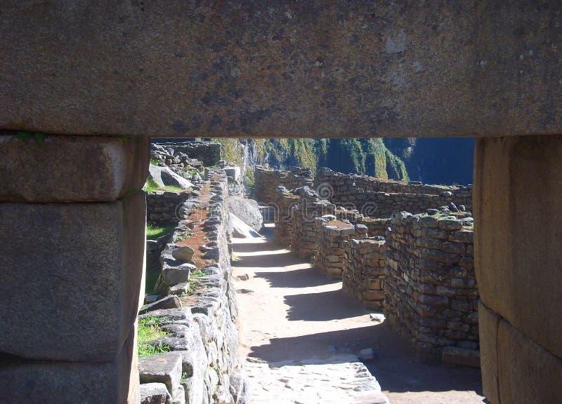 Maravilha Ámérica do Sul do mundo das ruínas de Machu Picchu Peru Inca fotos de stock