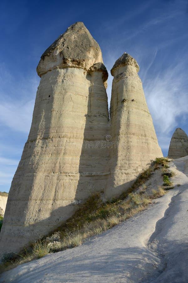 Maravilla de la naturaleza - Cappadocia fotografía de archivo libre de regalías