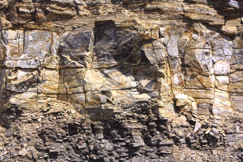Maravillas geológicas de la naturaleza imagen de archivo