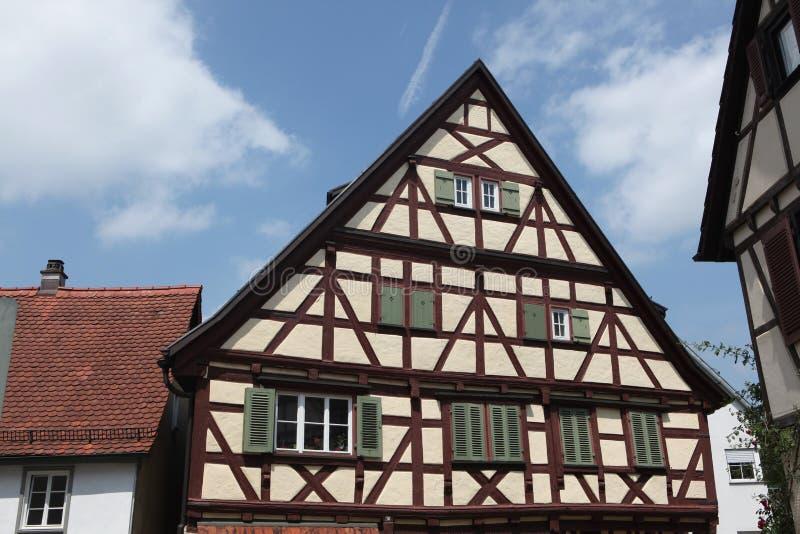 Marbach am Неккар, Баден-Wurttemberg, Германия стоковое изображение rf