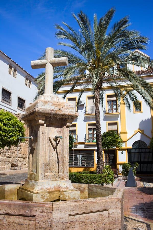 marbella老城镇 免版税库存照片