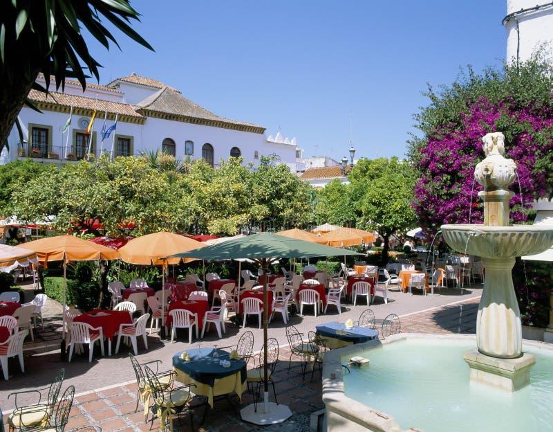 MARBELLA, ESPAÑA foto de archivo libre de regalías