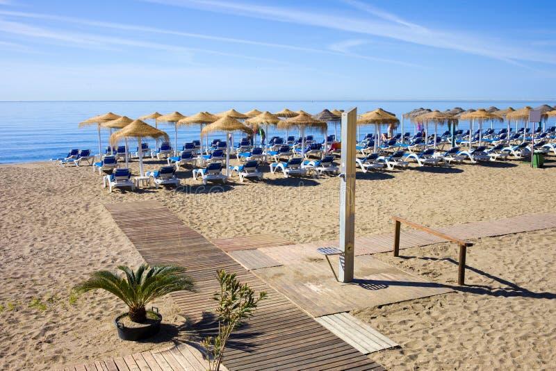 Marbella Holiday Beach royalty free stock image