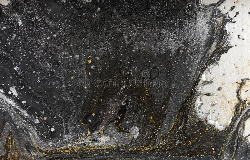 Marble abstract acrylic background. Nature marbling artwork texture. royalty free stock images