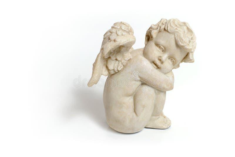 Marble angel stock image