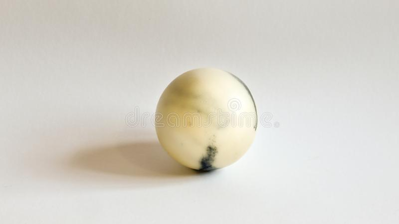 The marble ball stock photography