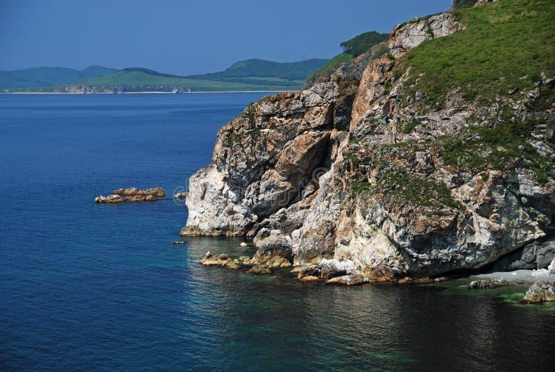 Marble bay, Putyatin island, Far East, Primo