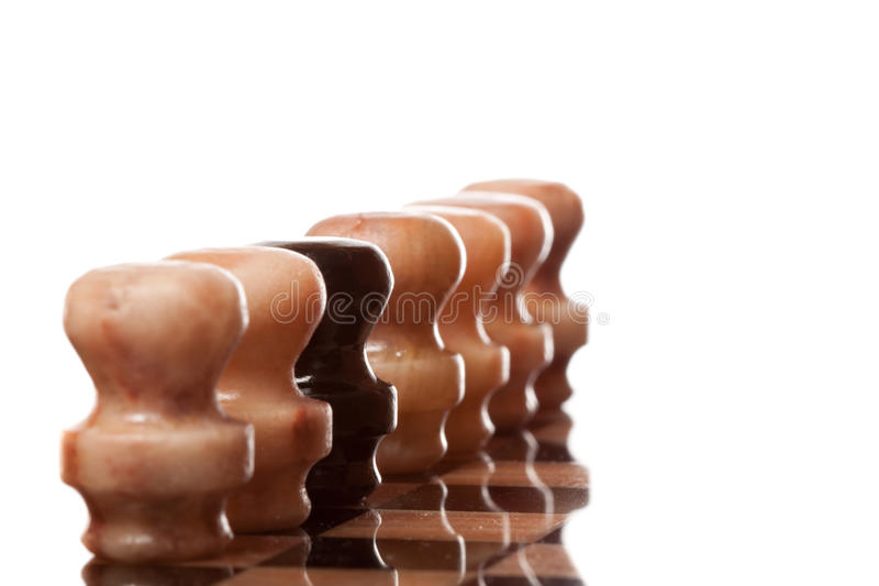 Marble chess stock images