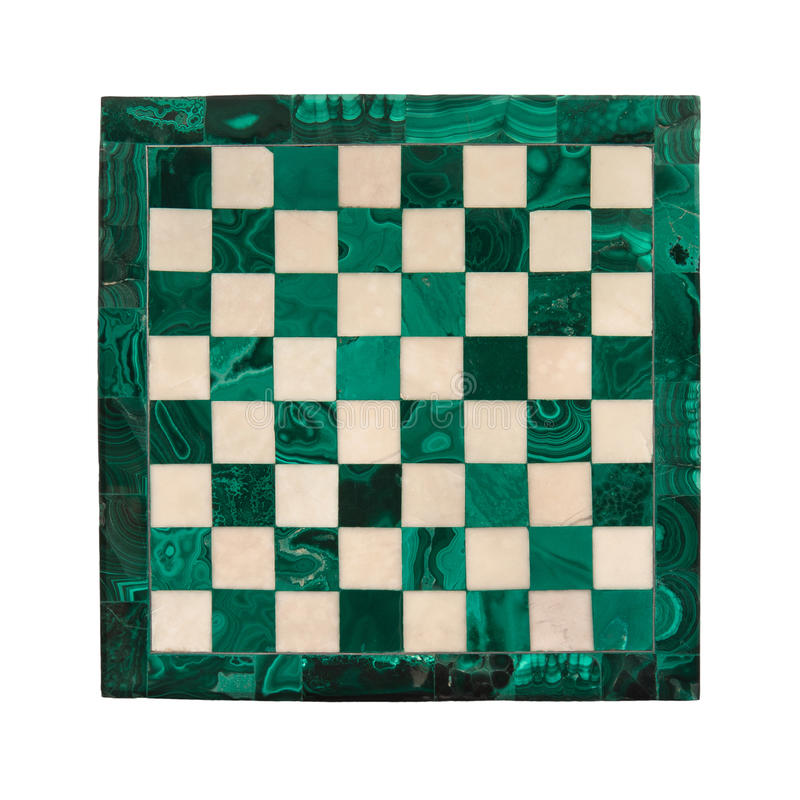 Marble chessboard royalty free stock images