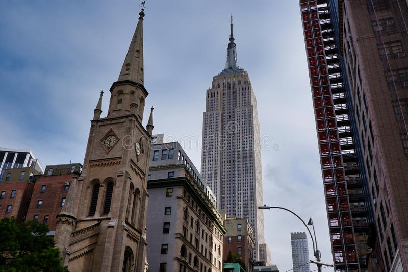 Marble Collegiate Church, New York City -4 royalty free stock photography