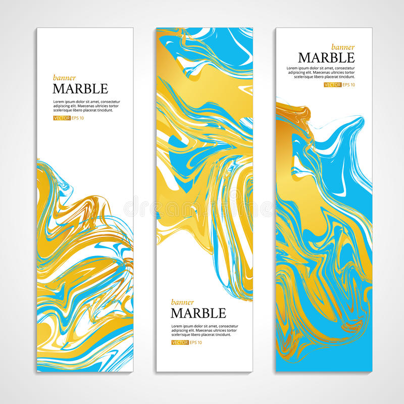 Marble color texture card background2 stock illustration
