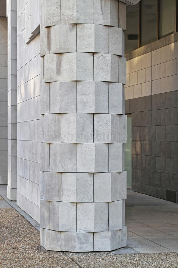 Marble Column royalty free stock photos