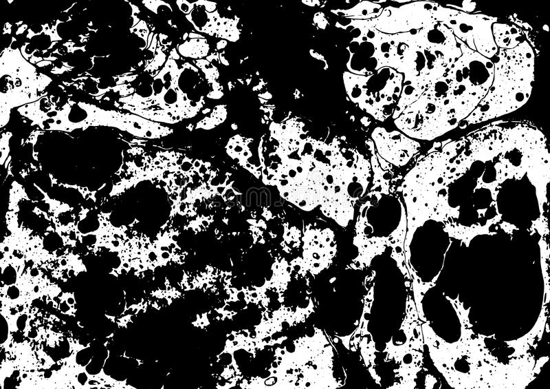 Marble ebru colorful pattern background. Vector vector illustration
