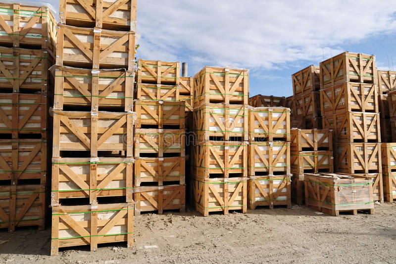 Marble factory products royalty free stock image