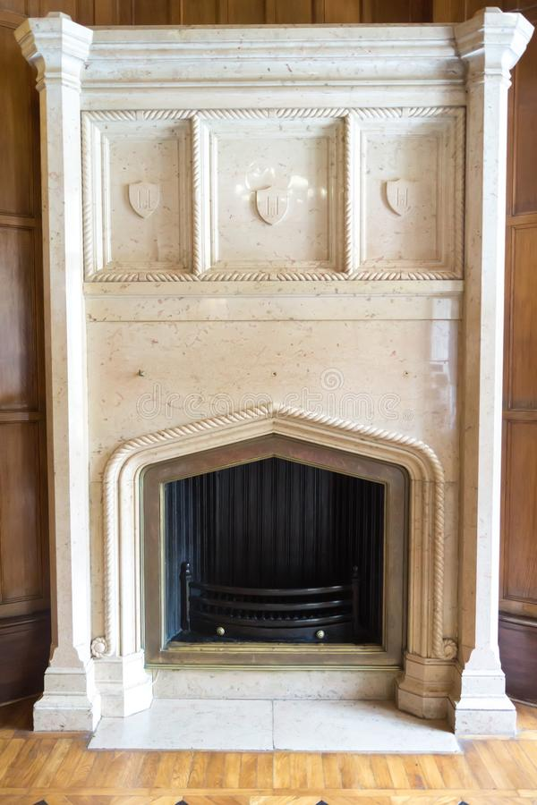 A Marble Fireplace Editorial Stock Photo Image Of Hearth