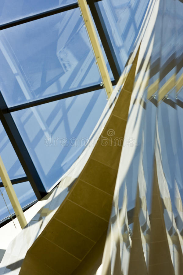 Marble Glass and Steel 2 royalty free stock image