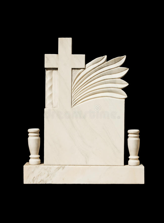 Marble grave stone royalty free stock photos