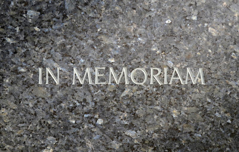 Marble Grave Stone Royalty Free Stock Photo