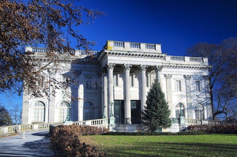 Marble House exterior Newport Rhode Island stock photo