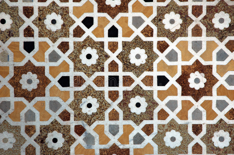 Marble Tiles Inlay : Marble inlay work at baby taj stock photo image of asia