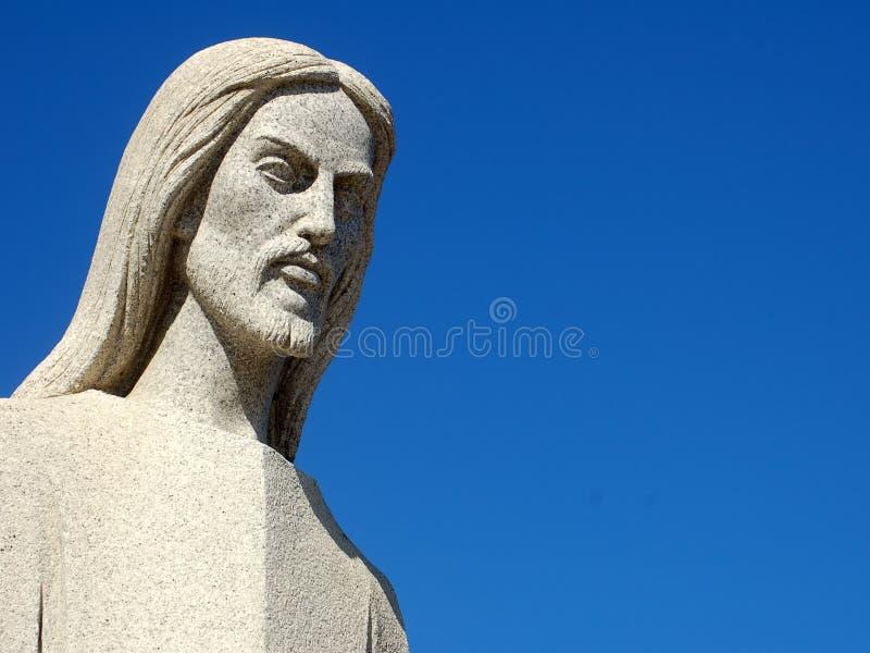 Marble Jesus royalty free stock photo