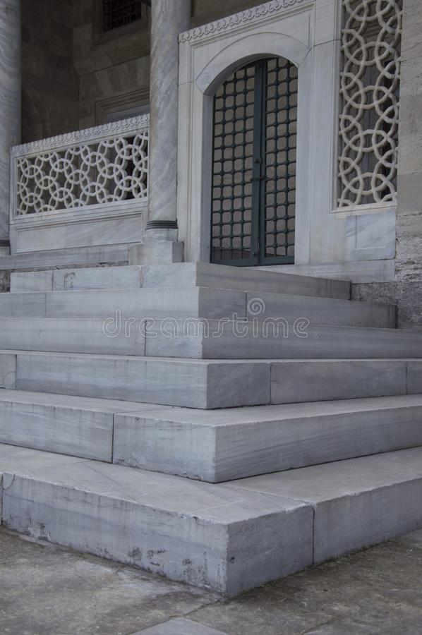 Marble ladder stock photos