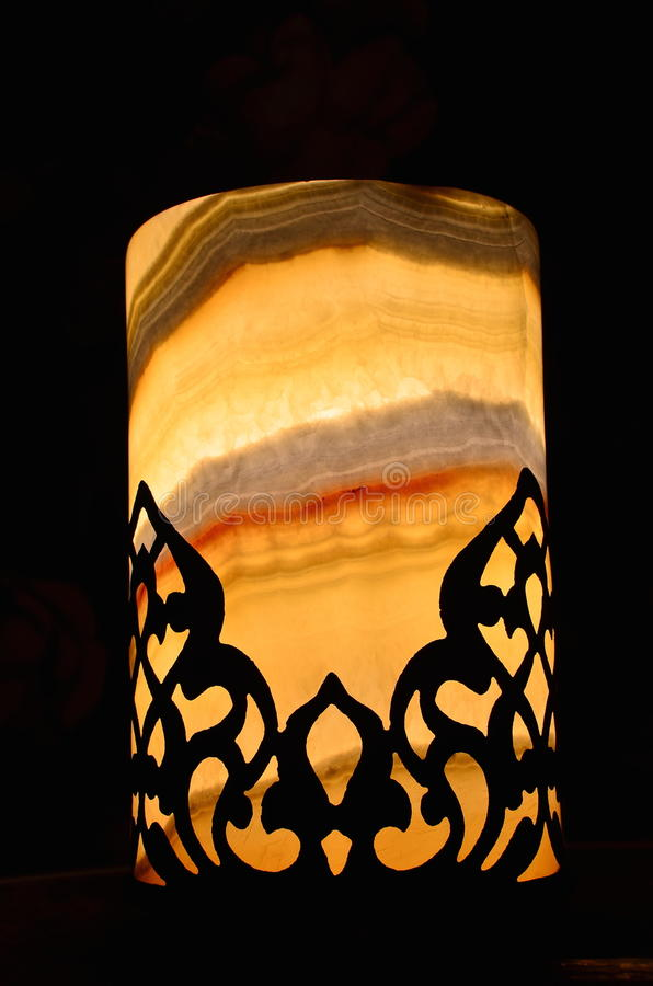 Marble light stock photos