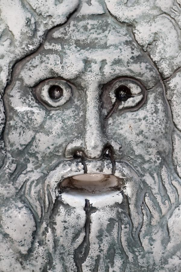 Marble mask stock images