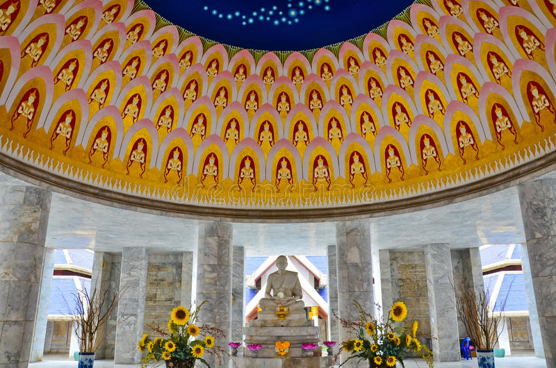 Download Marble Monument Of A Famous Monk In Thailand Stock Photo - Image: 27719882