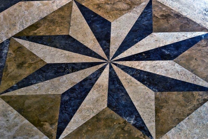Marble mosaic texture ceramic tiles stock photography