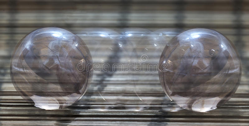 A marble in motion royalty free stock photo