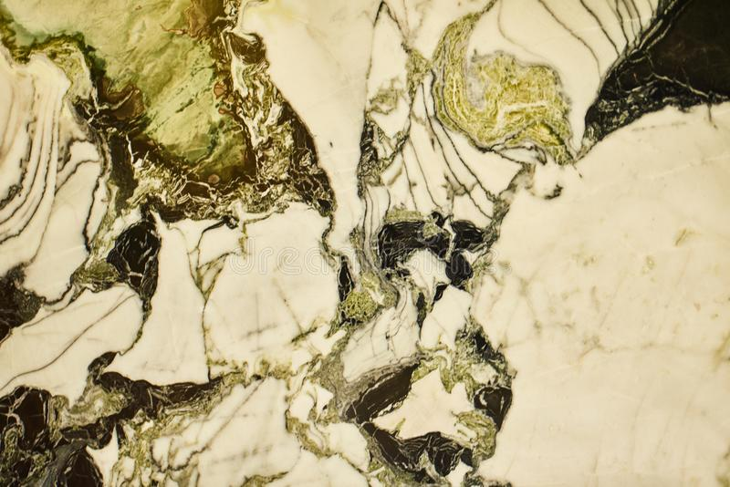 Green Marble pattern texture natural background. Interiors marble stone wall design (High resolution) stock image